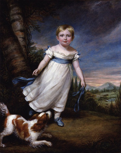 The young John_Ruskin by James Northcote