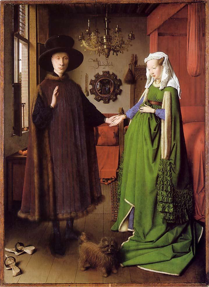 Jan van Eyck: Ritratto degli sposi Arnolfini