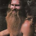 1970s hippy biker beard