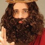 Biblical Jesus beard set