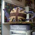 Union Jack flower teapot www.ShopCurious.com