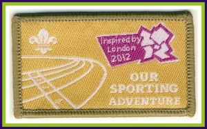 Our sport adventure scout badge