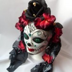 Day of the Dead headdress by KopfTaeume