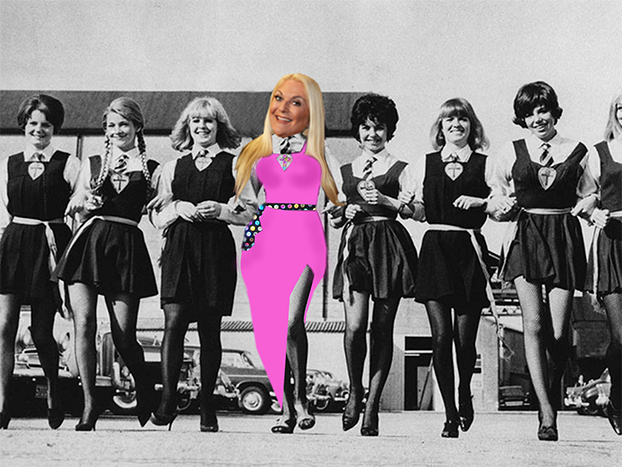 The girls of St Trinian's 2013