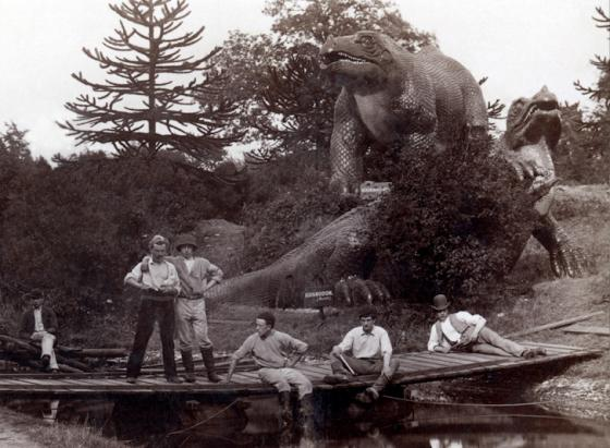 The Crystal Palace Dinosaurs The Dabbler