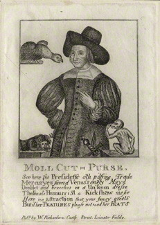 NPG D28538; Mary Frith ('Moll Cutpurse') after Unknown artist, published by  William Richardson