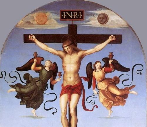 raphael-mond-crucifixion detail