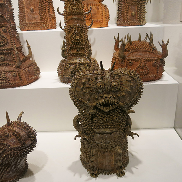 Clay creatures by Shinichi Sawada at Wellcome Collection www.ShopCurious.com