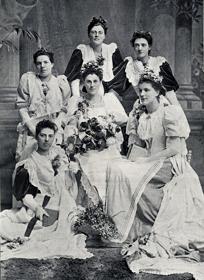 May Queen Annie Bawden (1895)