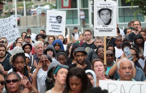 trayvon demo