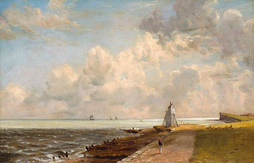 Harwich Lighthouse ?exhibited 1820 by John Constable 1776-1837