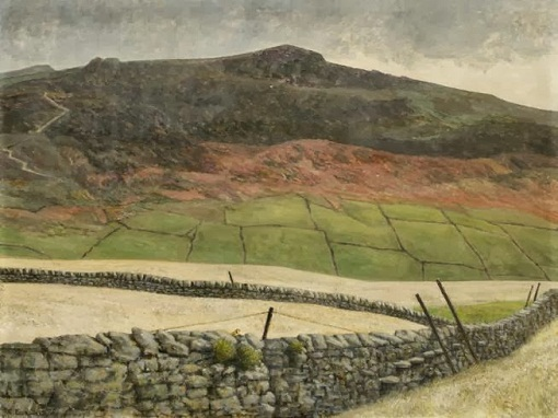 "Richard Eurich, ""Snow over Skyreholme"" (1937)"