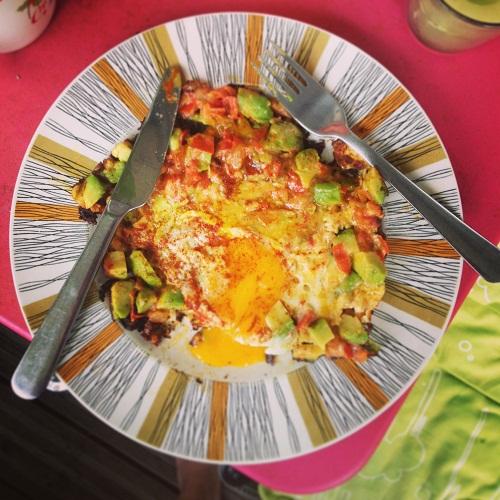Frying pan breakfast