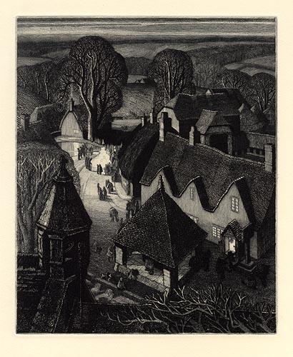 """Robin Tanner, """"Christmas"""" (1929)"""