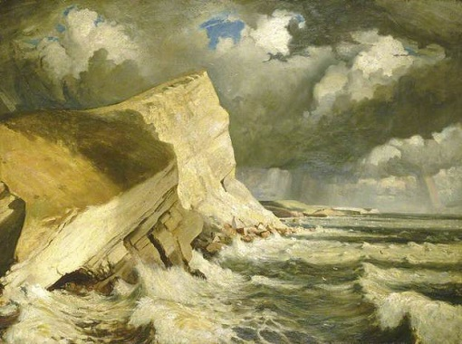 "John Everett (1876-1949), ""Worbarrow Bay, Dorset"""