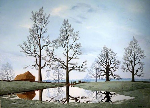 "Tristram Hillier, ""Flooded Meadow"" (1949)"