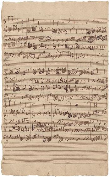 Bach's Hand