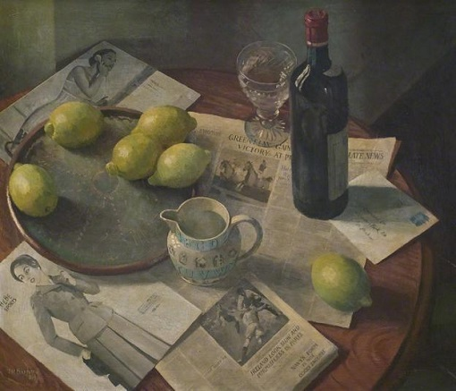 "Thomas Henslow Barnard (1898-1992), ""Still Life"""