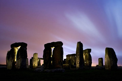 Stonehenge, Light painting. Second Trip.
