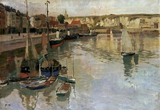 Frits Thaulow - 'Dieppe'