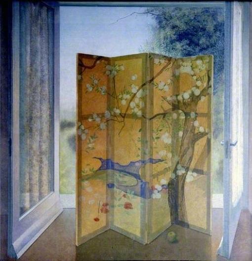 """David Tindle, """"Mural (Panel A)"""" (1978)"""
