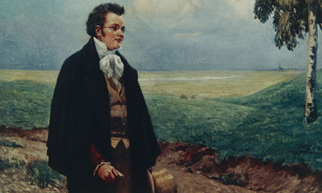 Portrait of Schubert in Viennese Countryside