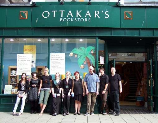 The last day of Ottakar's, Worthing, before it was converted into a Waterstone's