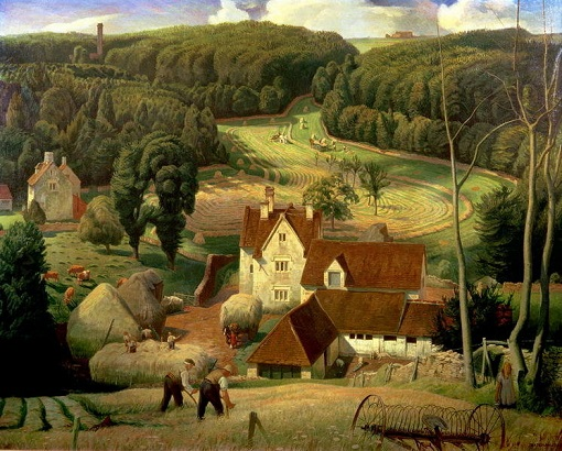 "James Bateman, ""Haytime in the Cotswolds"" (1939)"