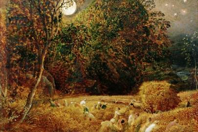 "Samuel Palmer, ""Harvest Moon"" (c. 1833)"
