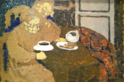Edouard Vuillard -  Two Woman Drinking Coffee