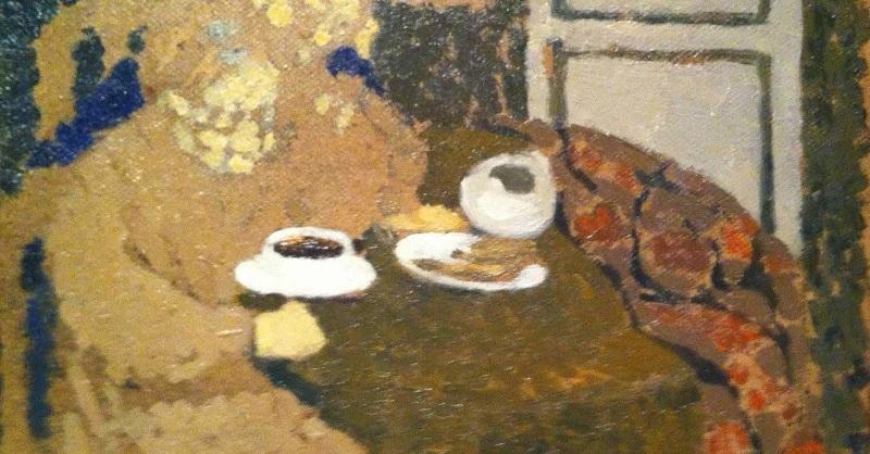 Edouard Vuillard -  Two Woman Drinking Coffee