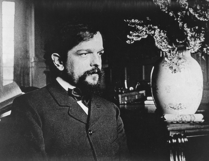 France, Saint-Germain-en-Laye, Photography of Claude Achille Debussy