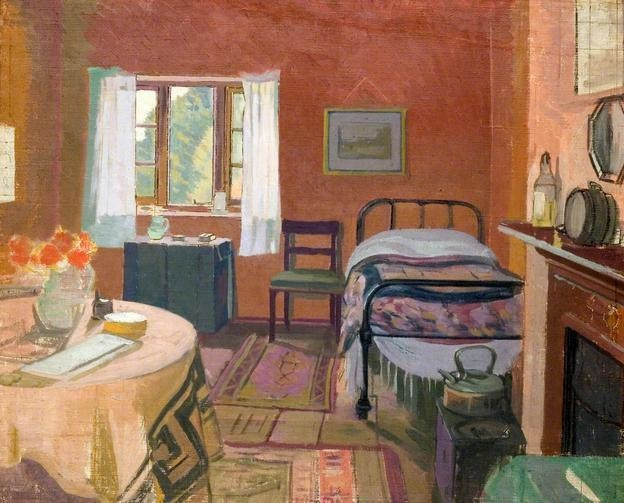 "William Ratcliffe, ""Cottage Interior"" (1920)"