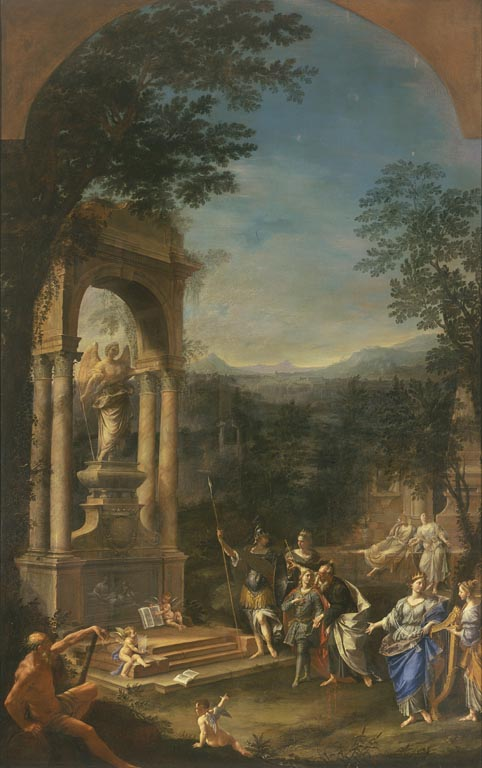 Allegorical Tomb of Thomas Wharton by Donato Creti