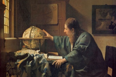 Johannes Vermeer - 'The Astronomer'