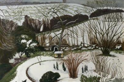 "John Nash, ""The Garden in Winter"" (1967)"