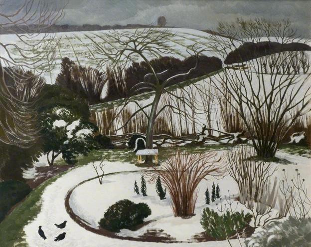 "John Nash, ""The Garden in Winter"" (1967)"