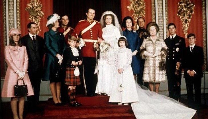 Anne S Wedding: The Wedding List Of Princess Anne And Captain Mark