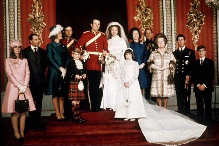 Princess anne wedding