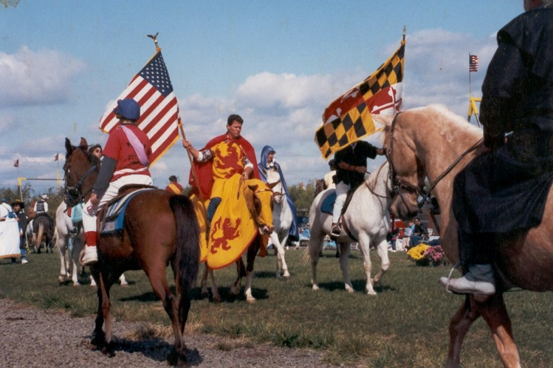 jousting lives on in maryland the dabbler