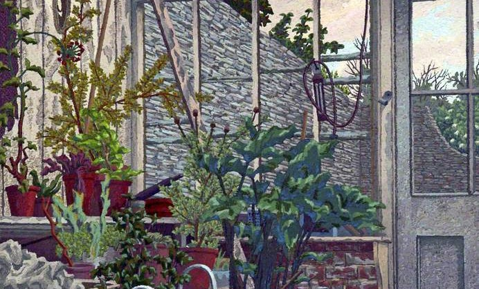 Charles Ginner - 'The Greenhouse'