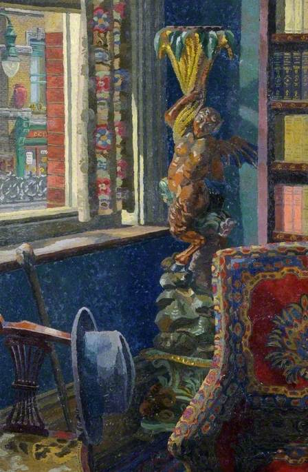 Charles Ginner - 'The Winged Faun'