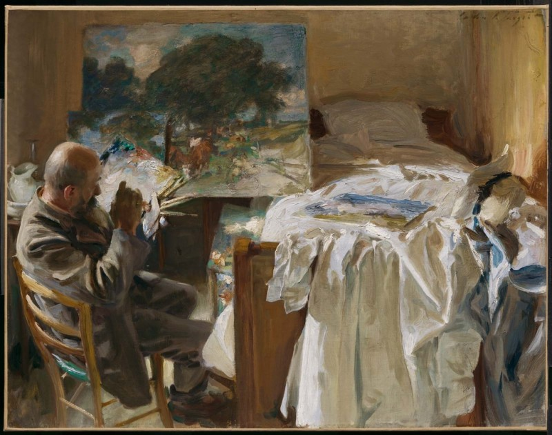 An Artist in His Studio (1904)