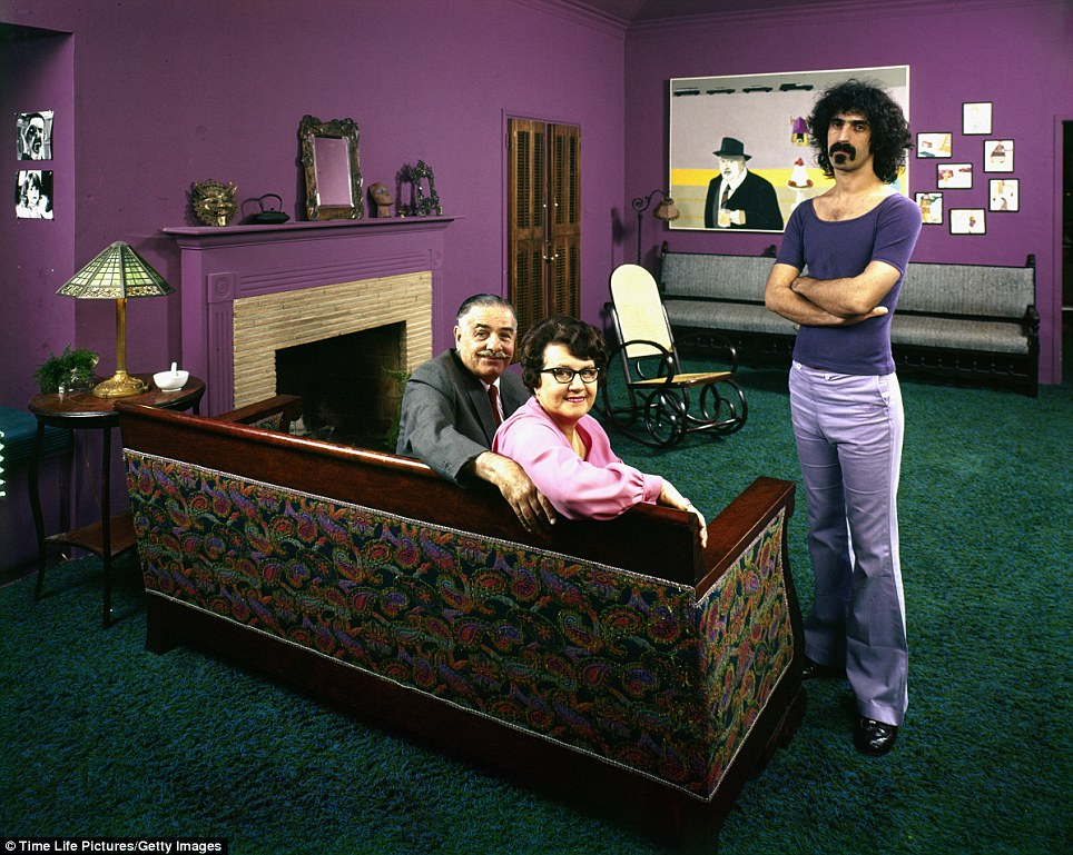 frank zappa parents