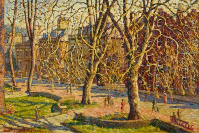 """George Charlton, """"Well Walk from New End Square"""""""