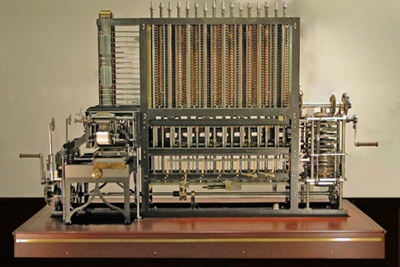 Babbage's Difference Engine No.2