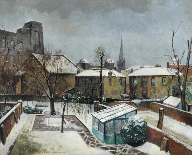 "Robert Kirkland Jamieson, ""Snow In My Garden"" (1932)"