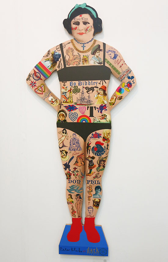 Tiny-Tina-the-Tattooed-lady-by-Peter-Blake
