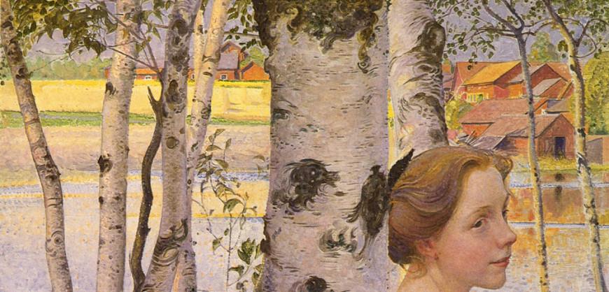 Lisbeth at the Birch (1910)