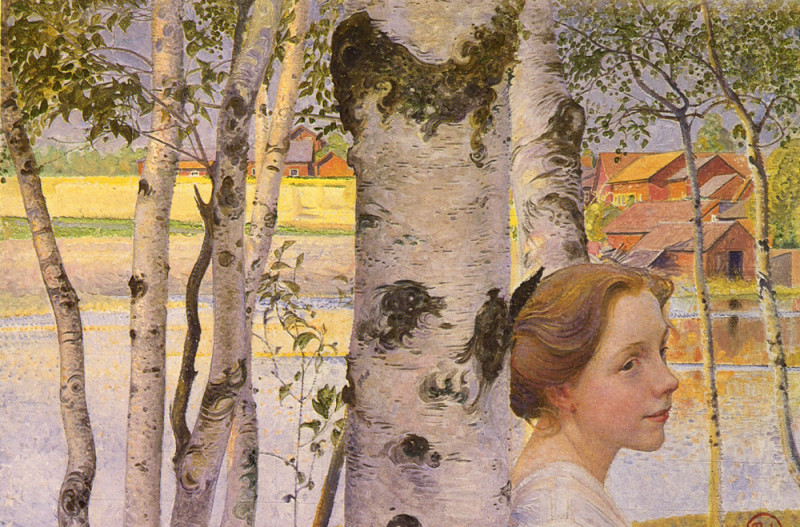 Lisbeth at the Birch (1910)